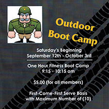 outdoor boot camp summer