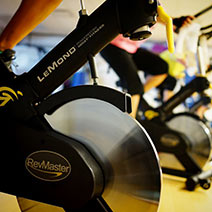 winter training program spinning cabin fever