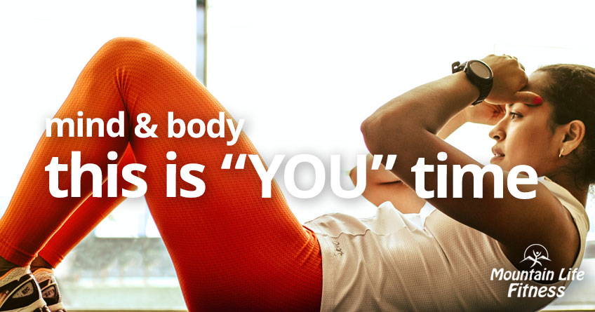 """mind and body, this is """"you"""" time"""